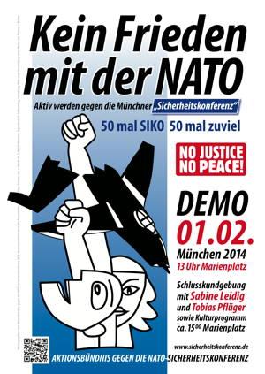 Gegen die NATO-Kriegskonferenz