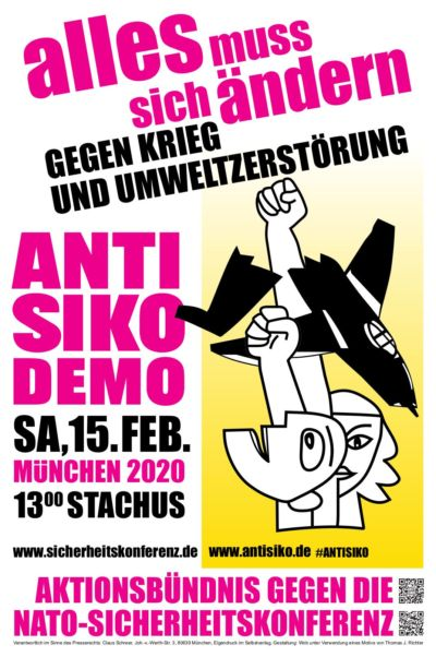 SIKO-Proteste / ANTI-SIKO-DEMO ...